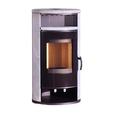 Thermaco poêle à bois - Prodos 2.0+ noir - P26-68V0N.R00