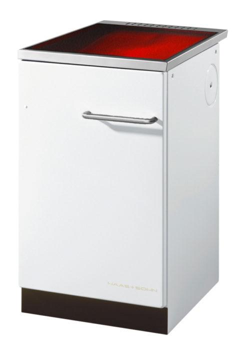 Haas & Sohn - Cuisinière à bois - HSZ 50.5-C Vitrocéramique