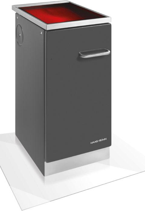 Haas & Sohn - Cuisinière à bois - HSZ 40.5-C Vitrocéramique