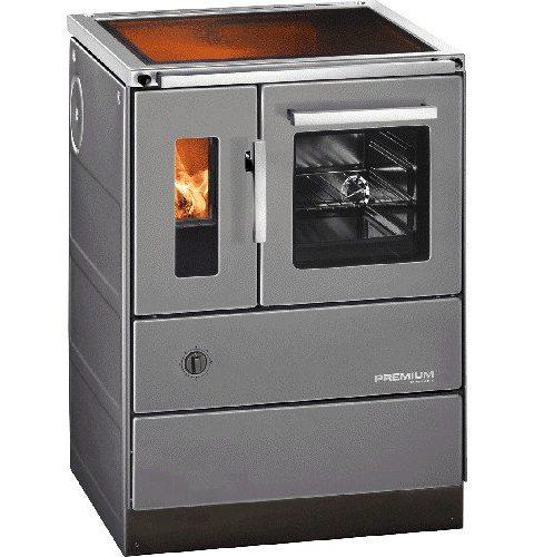 Haas & Sohn - Cuisinière à bois - HSD 60.5-C-SF Vitrocéramique