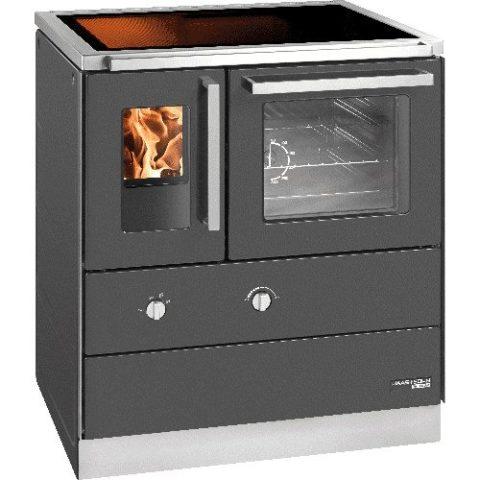 Haas & Sohn - Cuisinière à bois - HSDZ 75.5-SF-C EASY Vitrocéramique