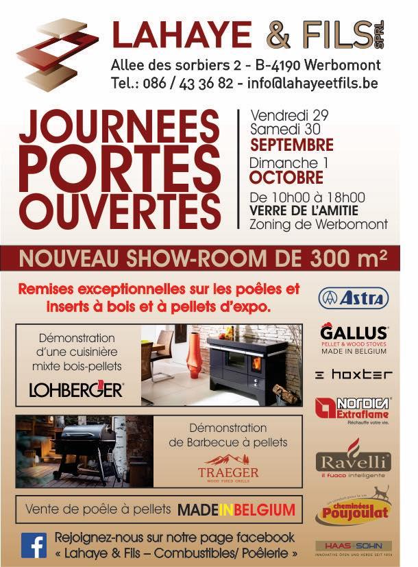 Portes Ouvertes Partenaire – LAHAYE & FILS du 29/09/17 au 01/10/17 ...