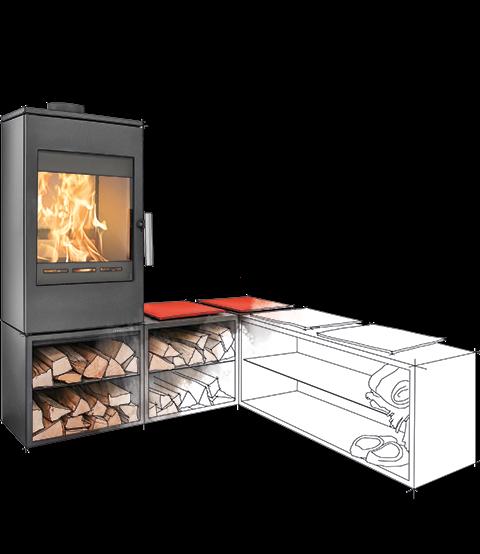 Haas & Sohn - Poêle à bois - GASTEIN EASY 350.15