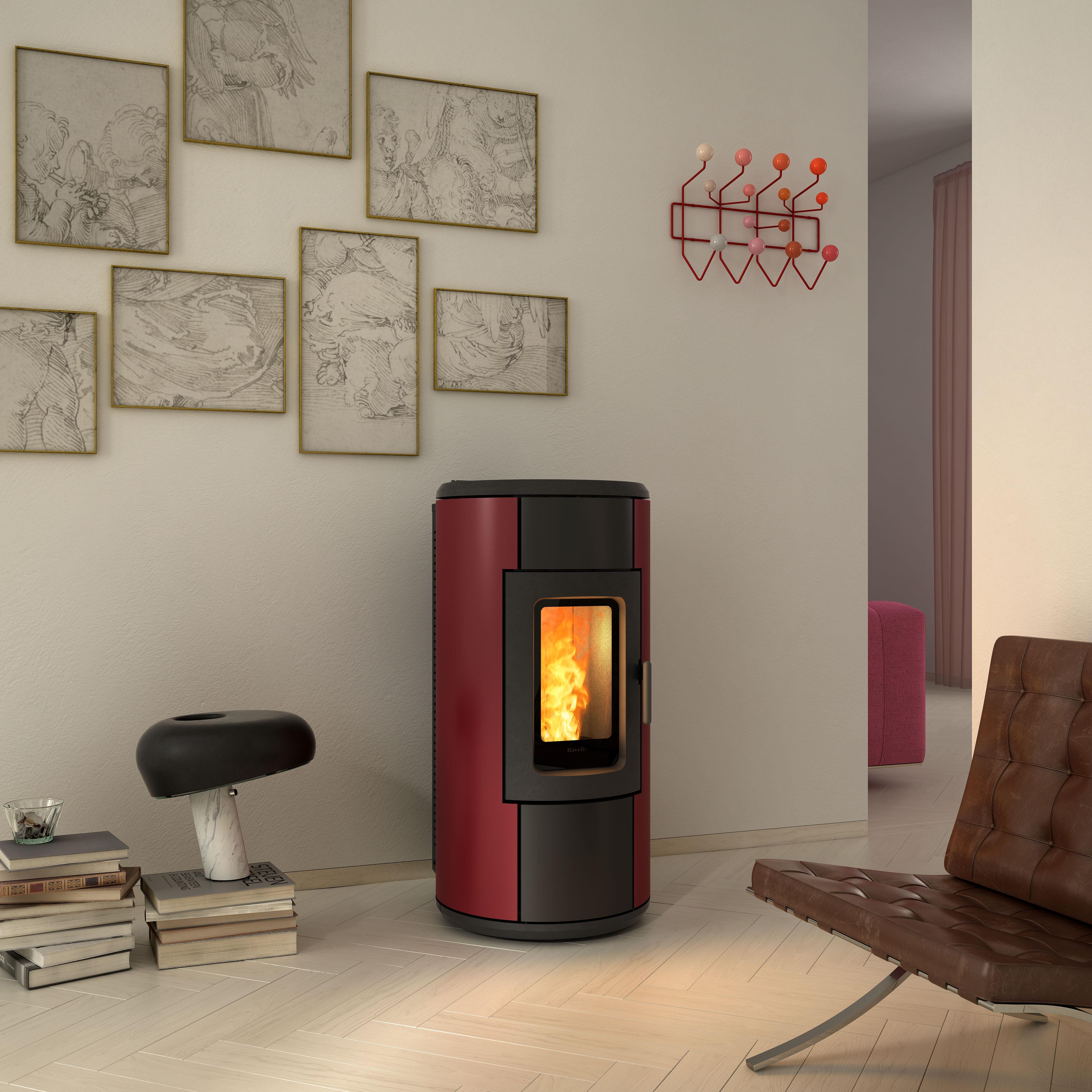 ravelli po le pellets convection r evolution 7 matagne hody. Black Bedroom Furniture Sets. Home Design Ideas